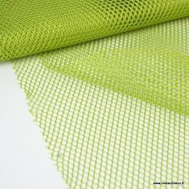 Tissu Filet Vert pomme - au mètre