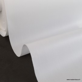 Tissu PUL Blanc lavable à 60°