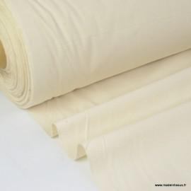 Tissu coton certifié contact alimentaire lavé stabilisé.