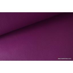 Faux cuirs ameublement rigide violet x 50cm