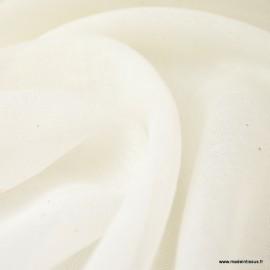 Tissu mousseline de coton certifié contact alimentaire