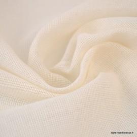 Tissu Etamine de coton certifié contact alimentaire