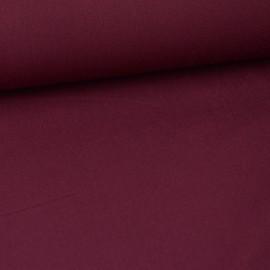Tissu gabardine bi stretch - Lie de Vin