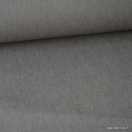Tissu jean stretch coloris Gris