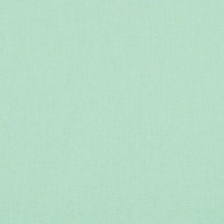 Tissu cretonne coton Jade .x1m