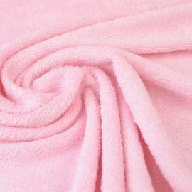 Tissu Eponge de bambou Rose