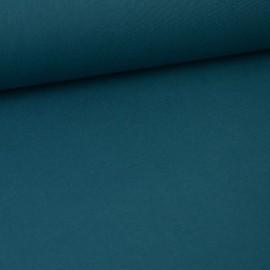 Tissu cretonne coton vert Paon