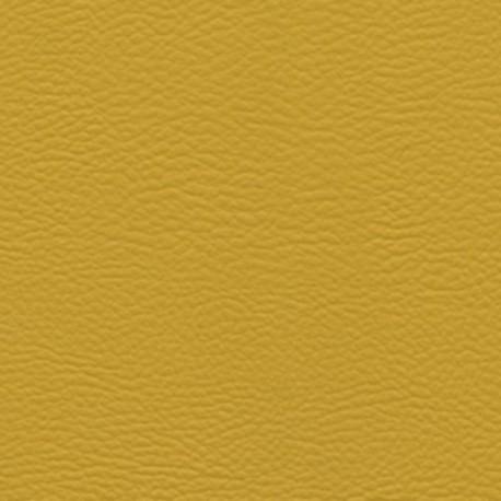 Tissu simili cuir Jaune moutarde