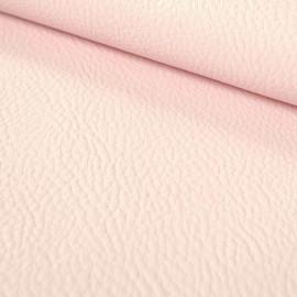 Tissu simili cuir Rose Blush