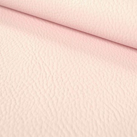 Tissu simili cuir Jaune Rose Blush