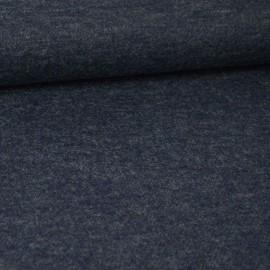 Tissu maille chaude coloris Gris bleuté pour confection de cardigans, vestes ou boléros
