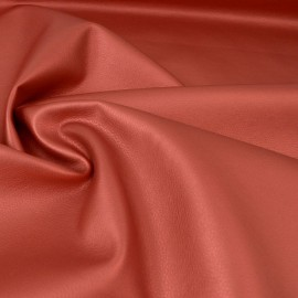 Tissu faux cuir brillant coloris Fuchsia