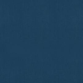 Tissu cretonne coton Bleu Indido