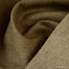 Tissu jean denim Lavé Camel