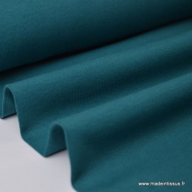 Tissu JERSEY coton élasthanne canard x1m