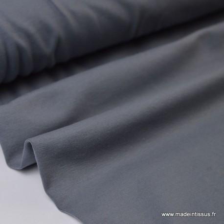 JERSEY coton élasthanne gris168 x1m