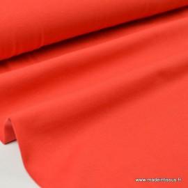 Tissu JERSEY coton élasthanne rouge x1m