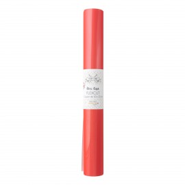 Flex Thermocollant - coupon 50 x 25 cm - ROUGE