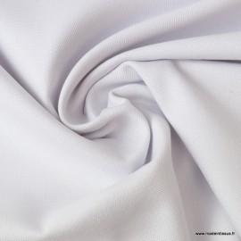 Tissu demi natté coton blanc 145cm