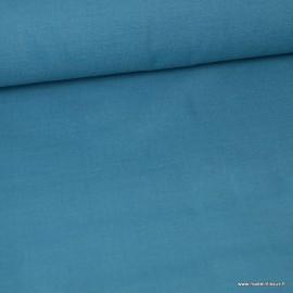 Tissu toile de coton demi natté gratté vintage CANARD