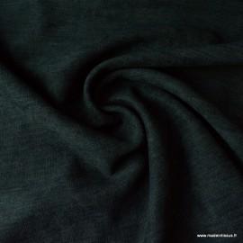 Tissu isolant thermique occultant noir