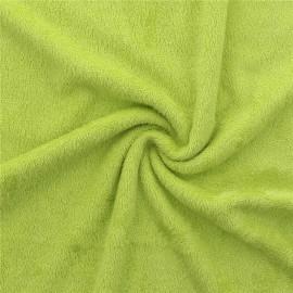 Tissu Eponge de bambou Vert Anis