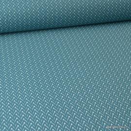 Tissu coton Lixneg Paon - Oeko tex
