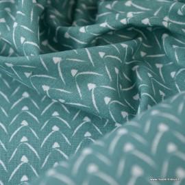 Tissu coton Lixneg Coloris Nil - Oeko tex