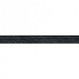 Passepoil Jean 10 mm coton coloris Noir