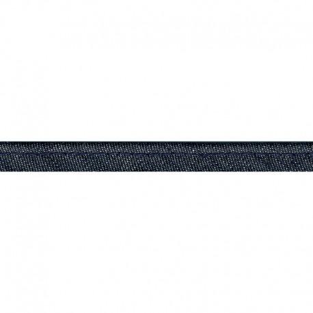 Passepoil Jean Denim 10 mm coton coloris Bleu