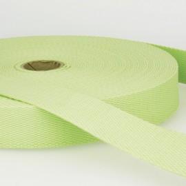 Sangle 30mm en coton pour sac coloris Menthe