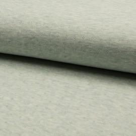 Tissu jersey coton ajouré motifs Menthe - Oeko tex
