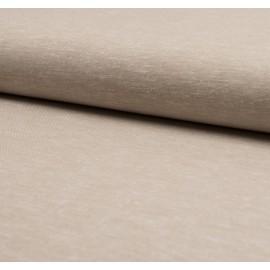 Tissu Lin viscose beige - au mètre