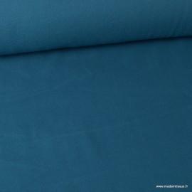 Tissu Micro polaire Prusse - oeko tex