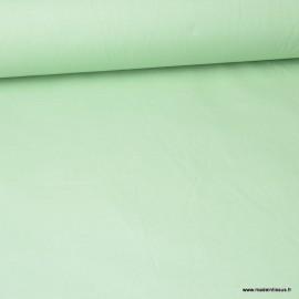 Toile à draps coton Céladon - au mètre