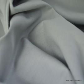 Toile à draps coton gris x 50cm
