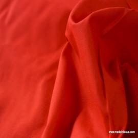 Toile à draps coton rouge x50cm
