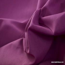 Toile à draps coton parme en grande largeur