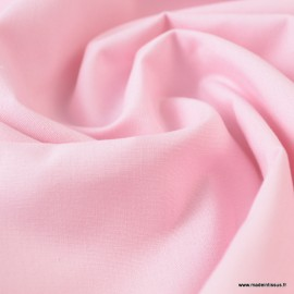 Toile à draps coton Rose - au mètre