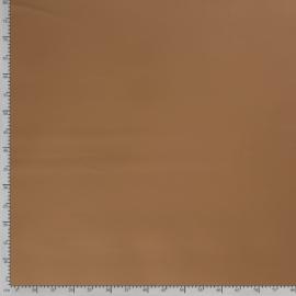 Tissu simili cuir Beige