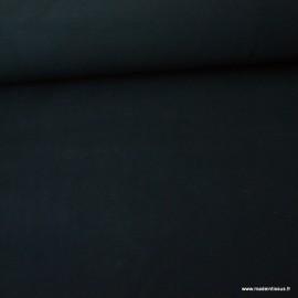 Tissu Micro polaire Noir - oeko tex