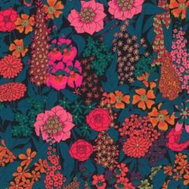 Tissu Liberty Ciara bleu et Rose - Oeko tex