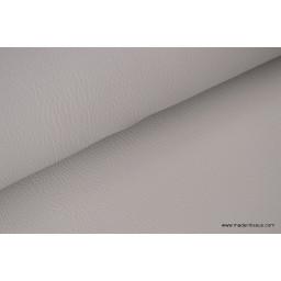Faux cuirs ameublement rigide gris pierre x50cm