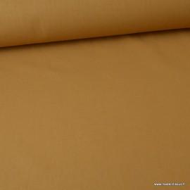 Tissu cretonne coton Camel - Oeko tex