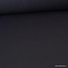 Tissu ultra doux Jersey en viscose Bambou coloris gris anthracite - Oeko tex