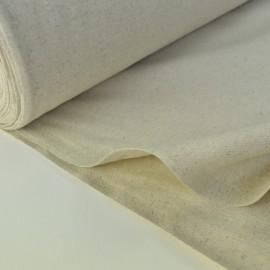 Tissu demi natté coton grande largeur coton/lin