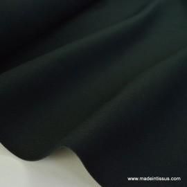 Tissu demi natté coton grande largeur noir