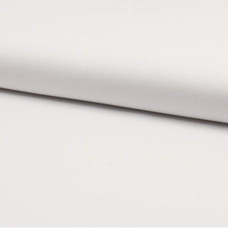Tissu Popeline en coton Bio & oeko tex uni Blanc - Oeko tex