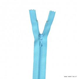 Fermeture éclair en nylon. col 520 Turquoise