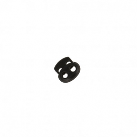 Bloqueur double oval en nylon - coloris Noir